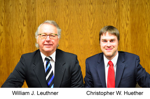 Attorneys Leuthner and Heuther